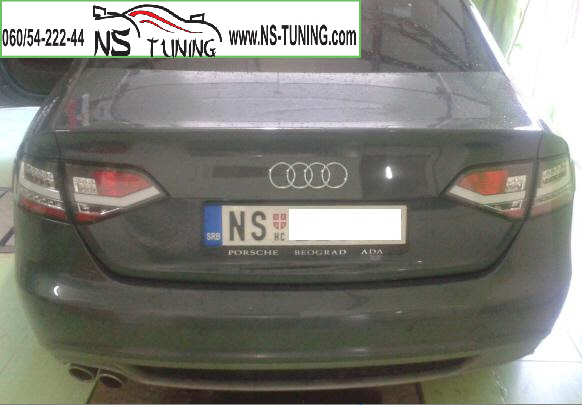 AUDI A4 B8 stop svetla led bar crni