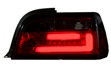 BMW E36 stop svetla  led tube crna 2