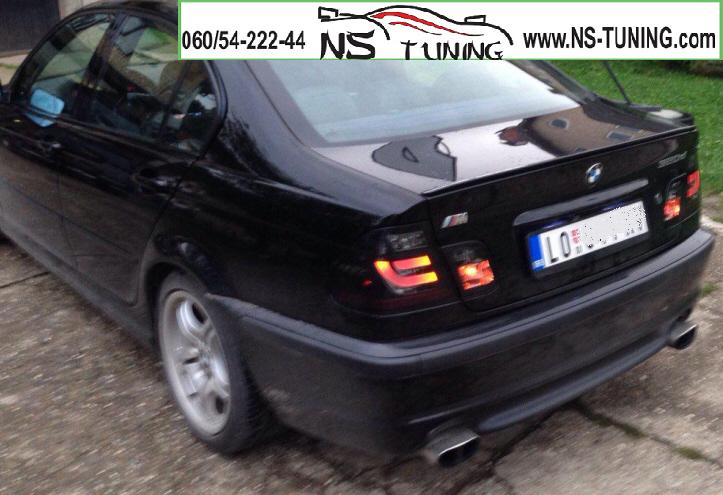 BMW e46 LED tub stop svetla crna