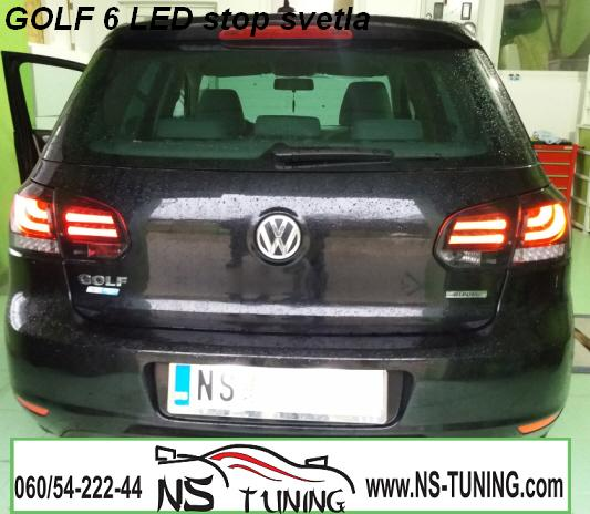 golf 6 led osvetljenje tablice ugradnja novi sad