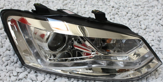 Farovi vw Polo 5 Typ 6R  LED HROM