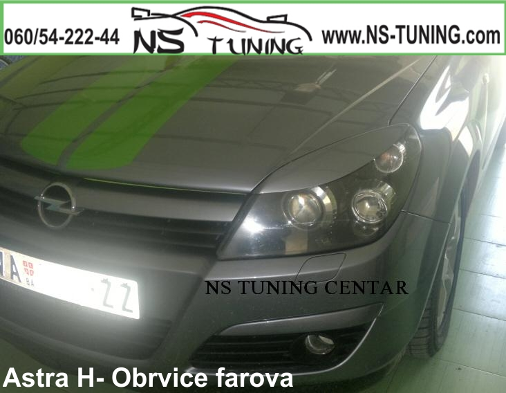 Obrvice Opel ASTRA H