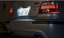 LED osvetljenje tablice BMW E39