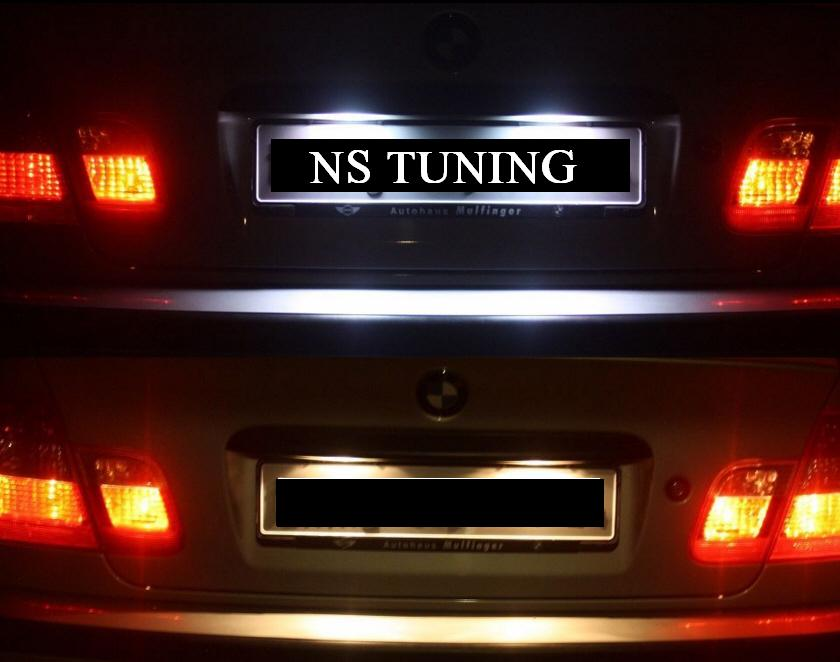 LED osvetljenje tablice BMW E46