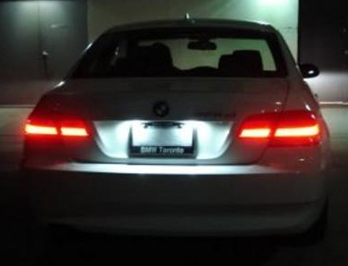 LED osvetljenje tablice BMW E90 E92